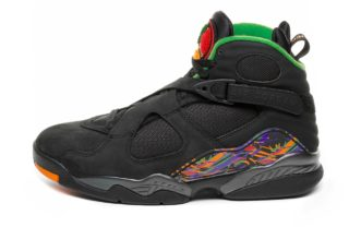 Nike Air Jordan 8 Retro *Tinker Air Raid* (Black /Light Concord - Aloe