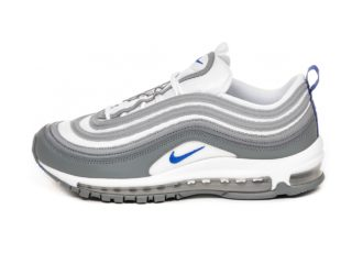 Nike Air Max 97 *Cool Grey* (White / Hyper Royal - Cool Grey)