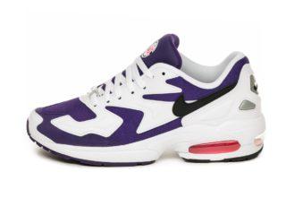 Nike Air Max² Light (White / Black - Court Purple - Hyper Pink)