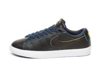 Nike SB Blazer Low GT *NBA* (Black / Black - Amarillo - Coast)