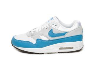 Nike Wmns Air Max 1 Essential (White / University Blue)