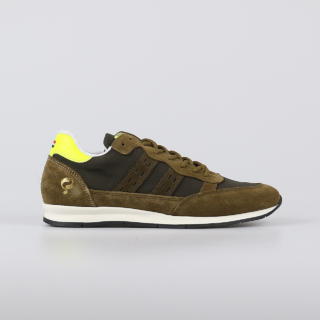 Quick QUICK Kijkduin Sneakers Heren (Donkergroen)