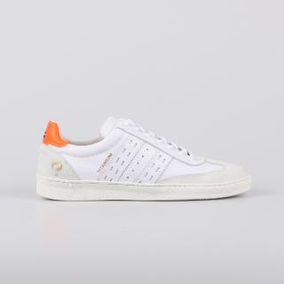 Quick QUICK Titanium Sneakers Heren (wit-oranje)