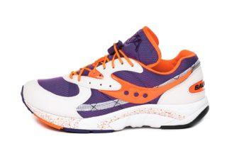 Saucony Aya (White / Purple / Orange)