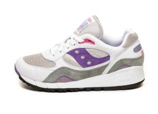 Saucony Shadow 6000 (White / Grey / Purple)