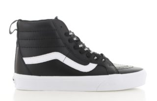 Vans SK8-Hi Reissue Leather Zwart Dames