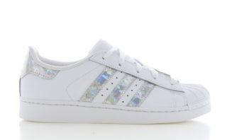 Adidas adidas Superstar C Wit/Zilver Kinderen