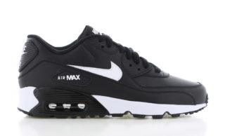 Nike Air Max 90 Leather Zwart/Wit