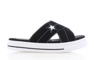 Converse One Star Sandal Zwart Dames