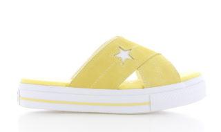 Converse One Star Slipper Geel Dames
