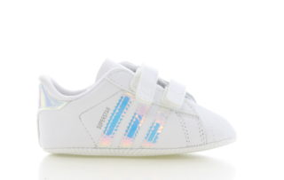 Adidas adidas Superstar Crib Wit/Zilver Baby's
