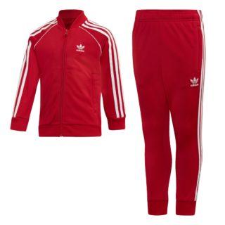 Adidas adidas Superstar Trainingspak Rood Kinderen