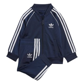 Adidas adidas Superstar Trainingspak Donker Blauw Peuters
