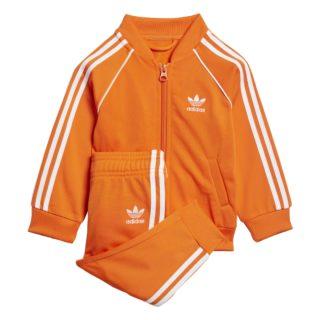 Adidas adidas Superstar Trainingspak Oranje Peuters