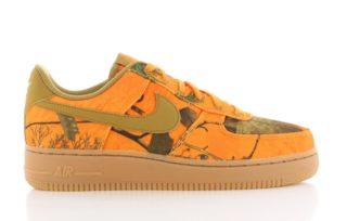 Nike Air Force 1 '07 LVB 3 Oranje Dames