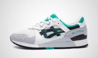 GEL-LYTE III (Wit/Zwart/Turquoise) Sneaker