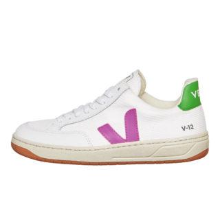 Veja V-12 WMN (wit/roze/paars/groen)