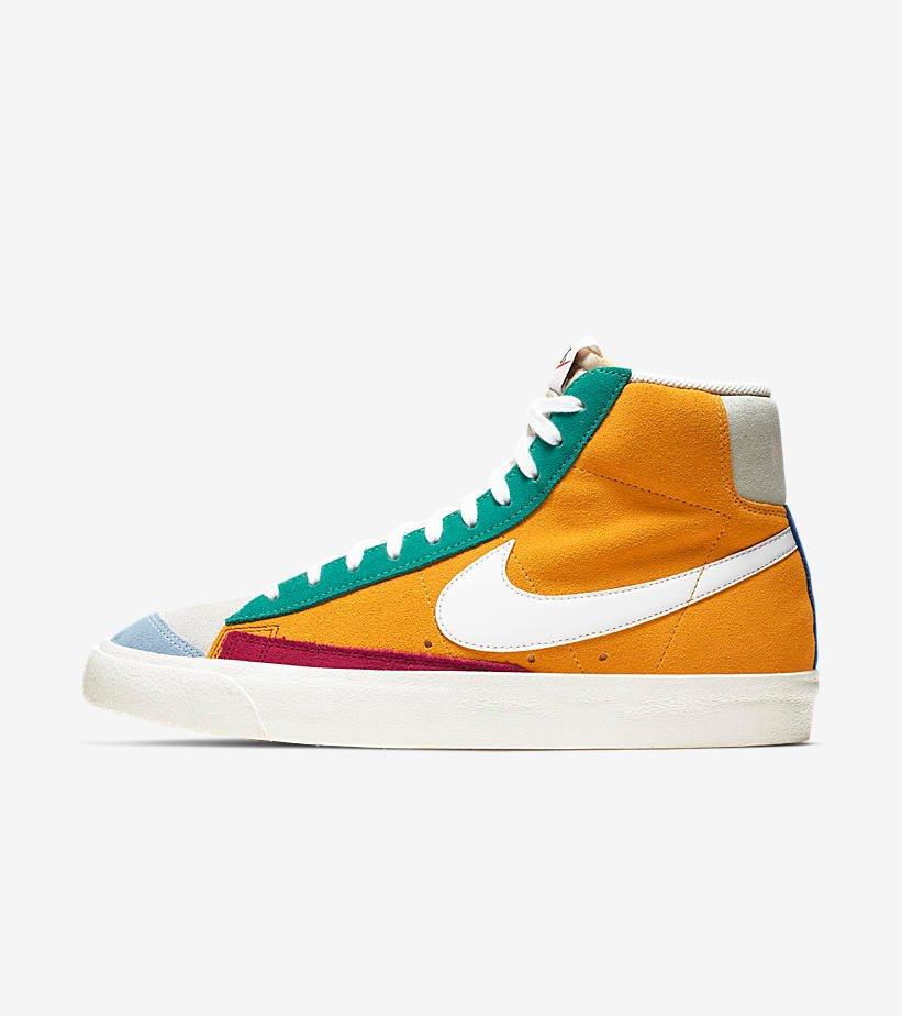 Nike Blazer Mid'77 Vintage Suede Herenschoen – Rood
