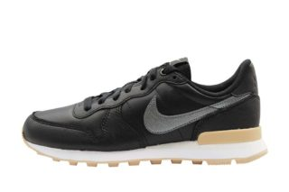 Nike Wmns Internationalist Premium (zwart/beige/wit/zilver/grijs)