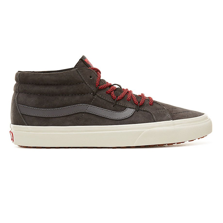 f36d171992b VANS Sk8-mid Reissue Ghillie Mte ((mte) Forged Iron/marshmallow)