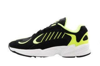 adidas Yung 1 (zwart/geel)