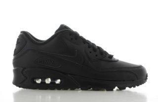 Nike Air Max' 90 Leather Zwart Heren