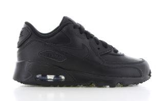 Nike Air Max 90 Leather PS Zwart/Zwart Kinderen