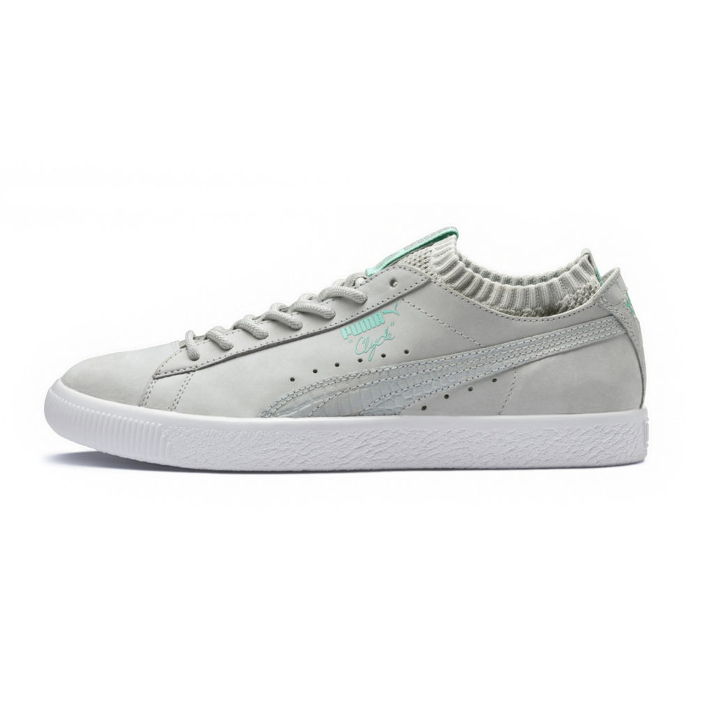 Puma Clyde Sock Lo Diamond Supply Co Grey