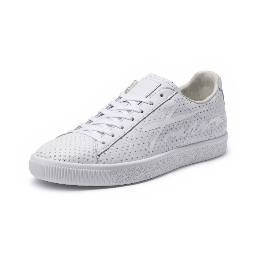 Puma Clyde Perforated Trapstar White