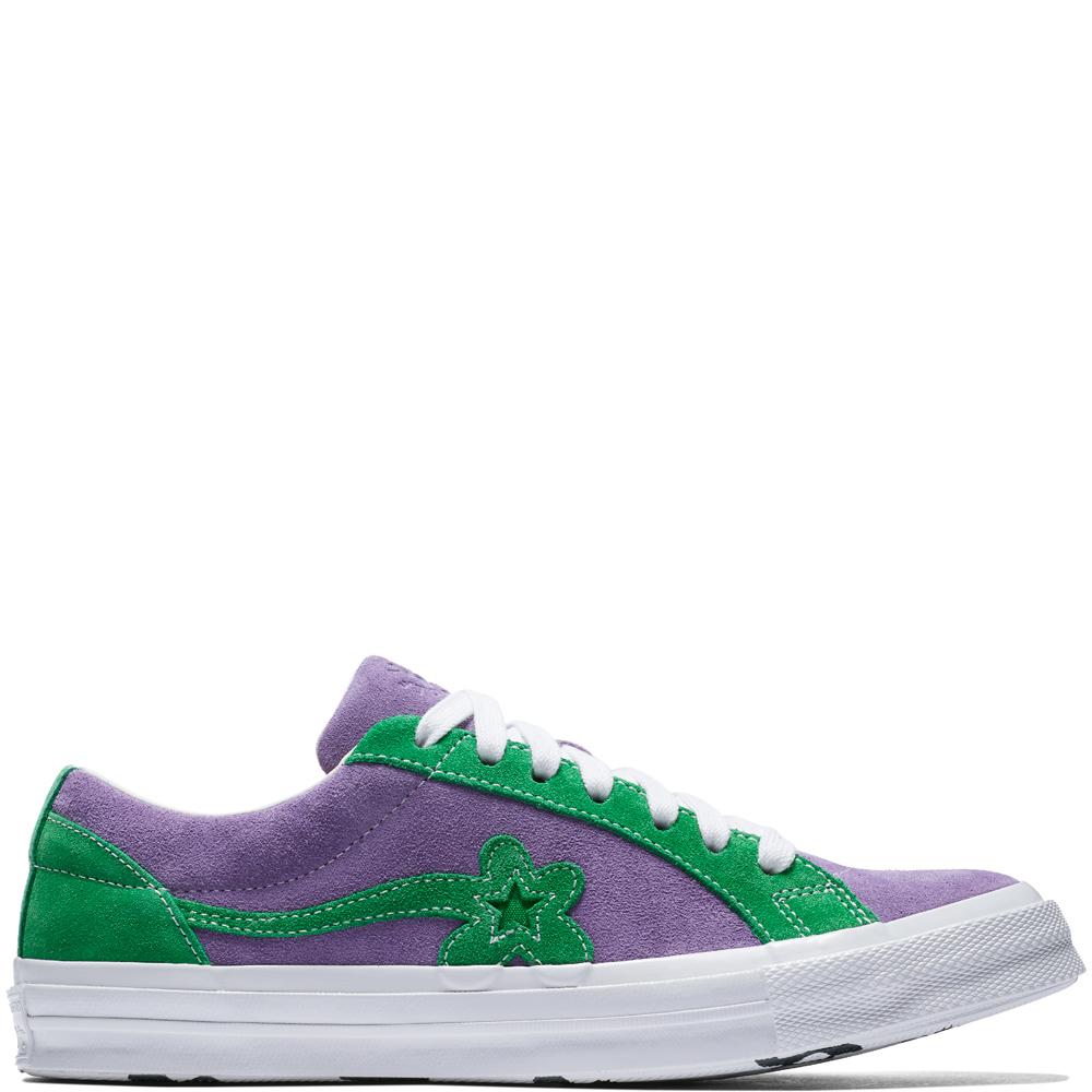 Converse One Star Ox Tyler the Creator Golf Le Fleur Purple Green