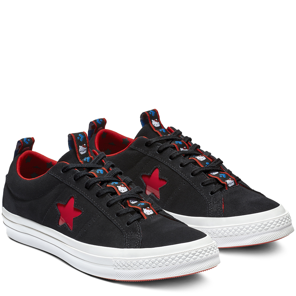 Converse One Star Ox Hello Kitty Black (W)