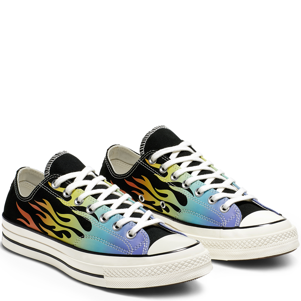 Converse Chuck Taylor All-Star 70s Ox Flaming Archive Print (164407C)