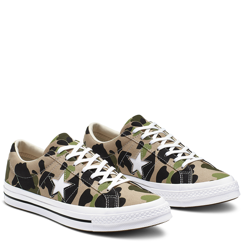Converse One Star Ox Duck Camo (165027C)