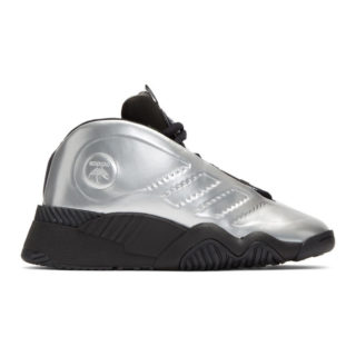 adidas Originals by Alexander Wang Silver AW Futureshell Sneakers