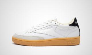WMNS Club C 85 New Heel (Wit/Zwart/Zilver) Sneaker