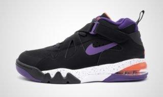 Air Force Max CB (Zwart/lila) Sneaker