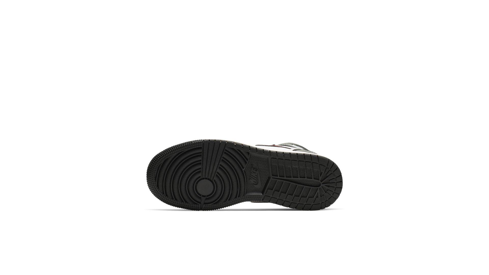 Jordan 1 Retro High Black Gym Red (GS) (575441-061)