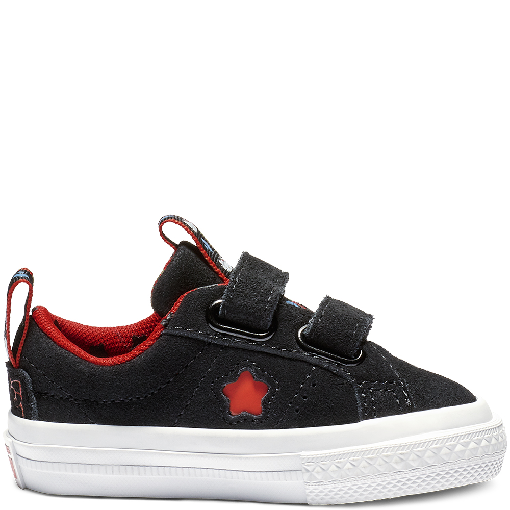 Converse One Star Ox Hello Kitty Black Fiery Red (TD)
