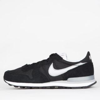 Nike Internationalist Black/Metallic Silver White Flt Silver