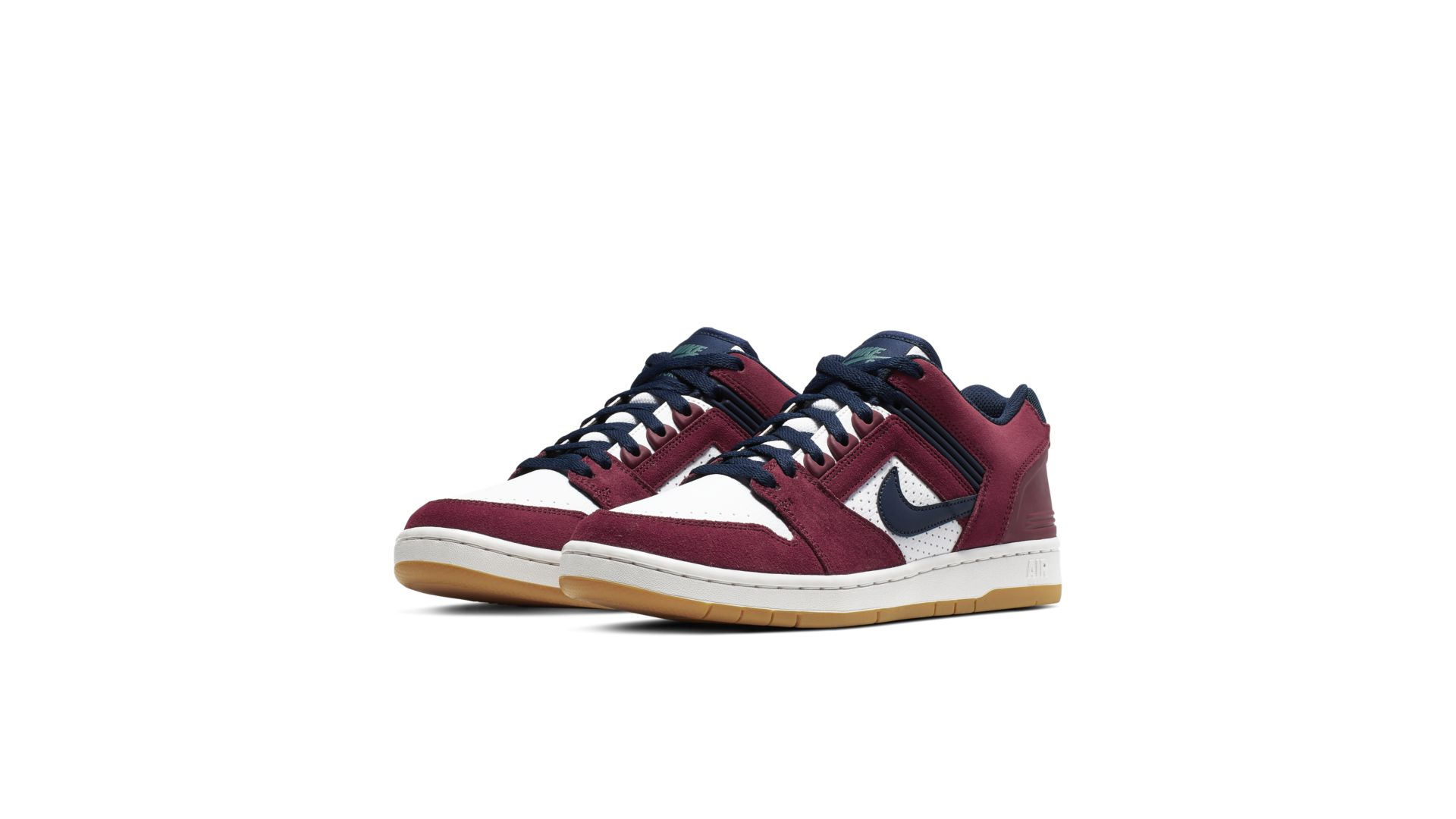 Nike SB Air Force 2 Low Team Red Obsidian (AO0300-600)