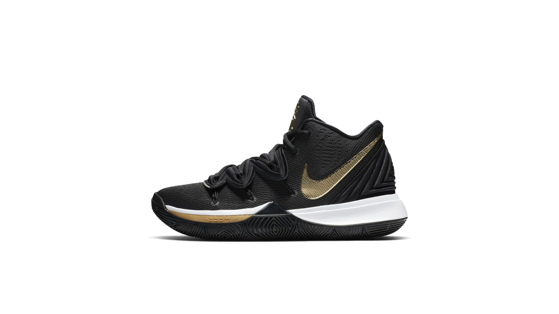 Nike Kyrie 5 Black Metallic Gold (AO2918-007)
