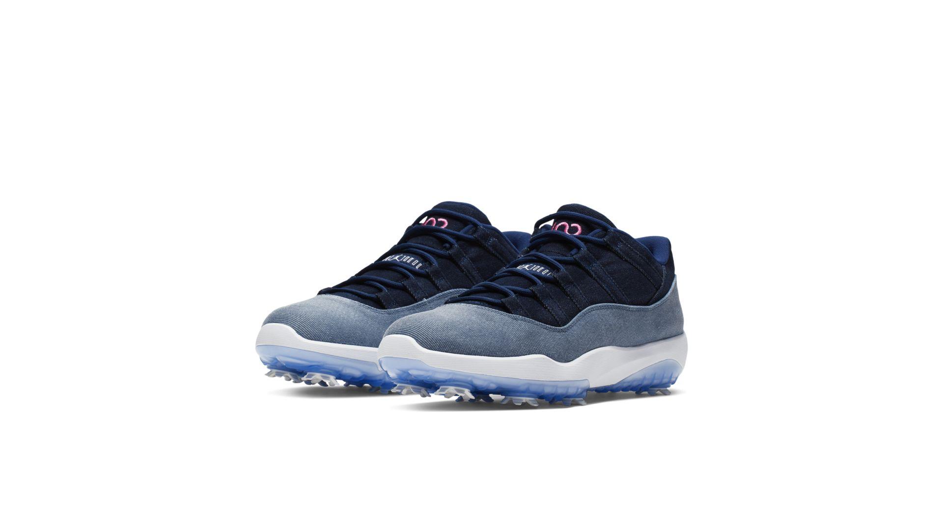 Jordan 11 Retro Low Golf No Denim Allowed (AQ0963-400)
