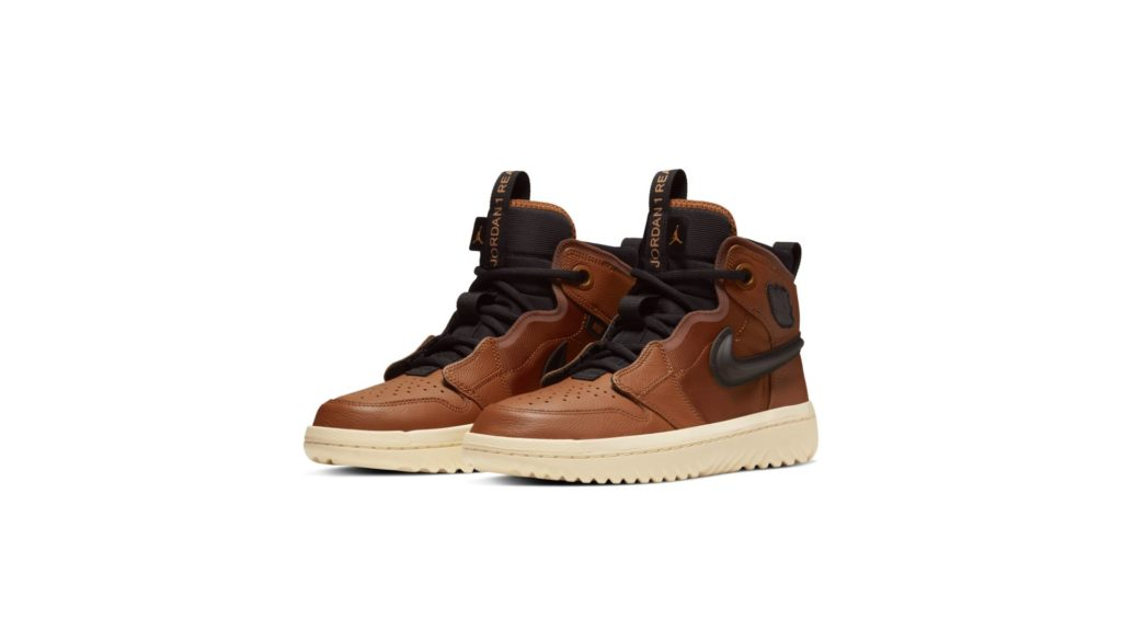 Jordan 1 High React Brown