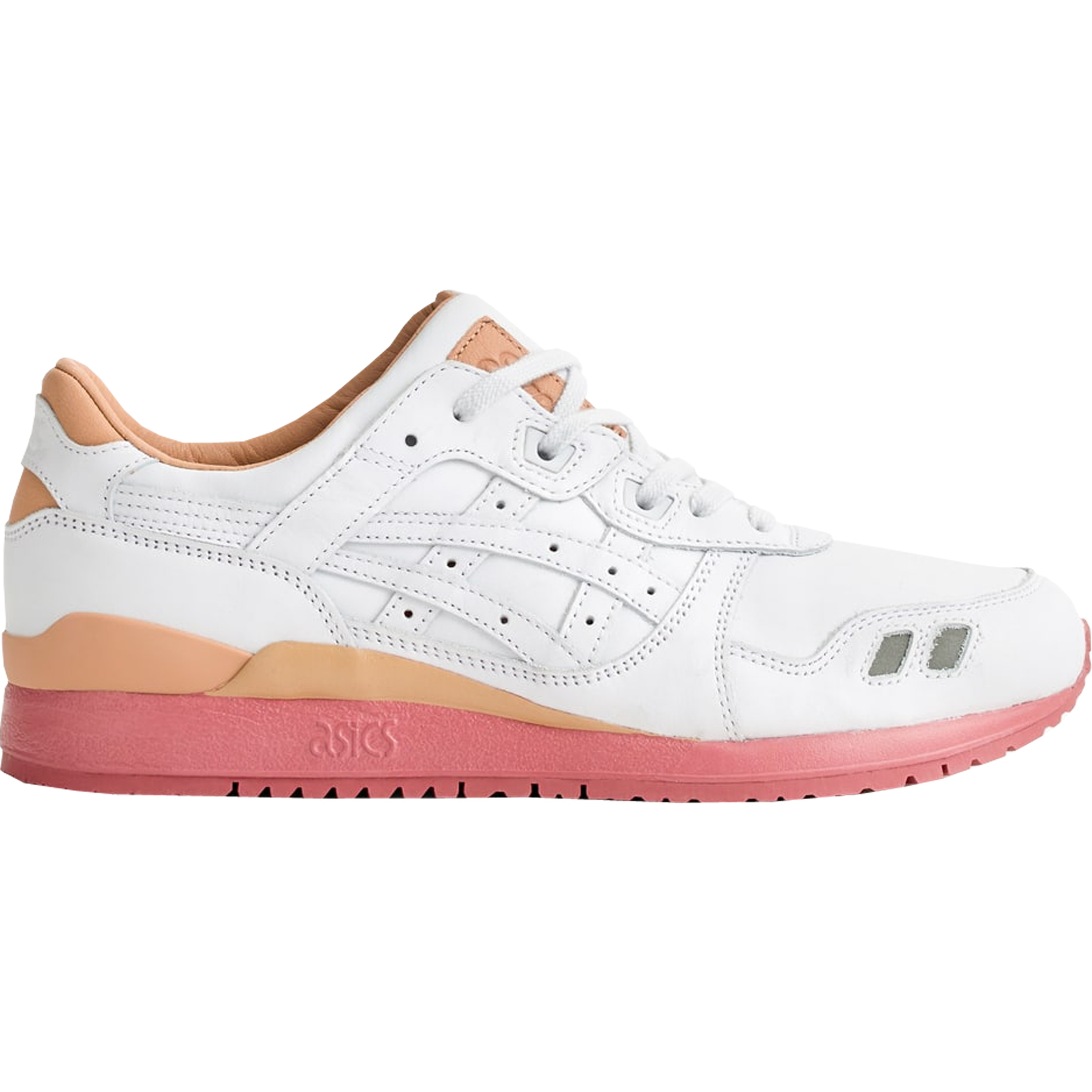 Asics Gel-Lyte III Packer Shoes x J. Crew White Buck (H7F3K 0101)