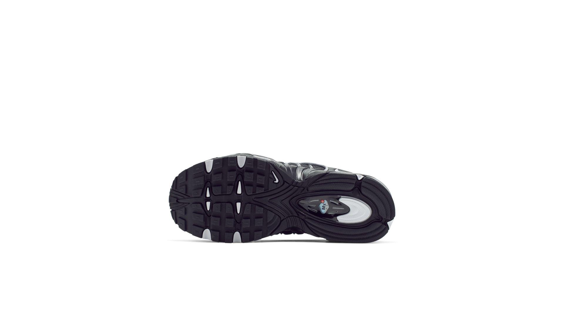 Nike Air Max Tailwind 4 Black Metallic Silver (GS) (BQ9810-002)
