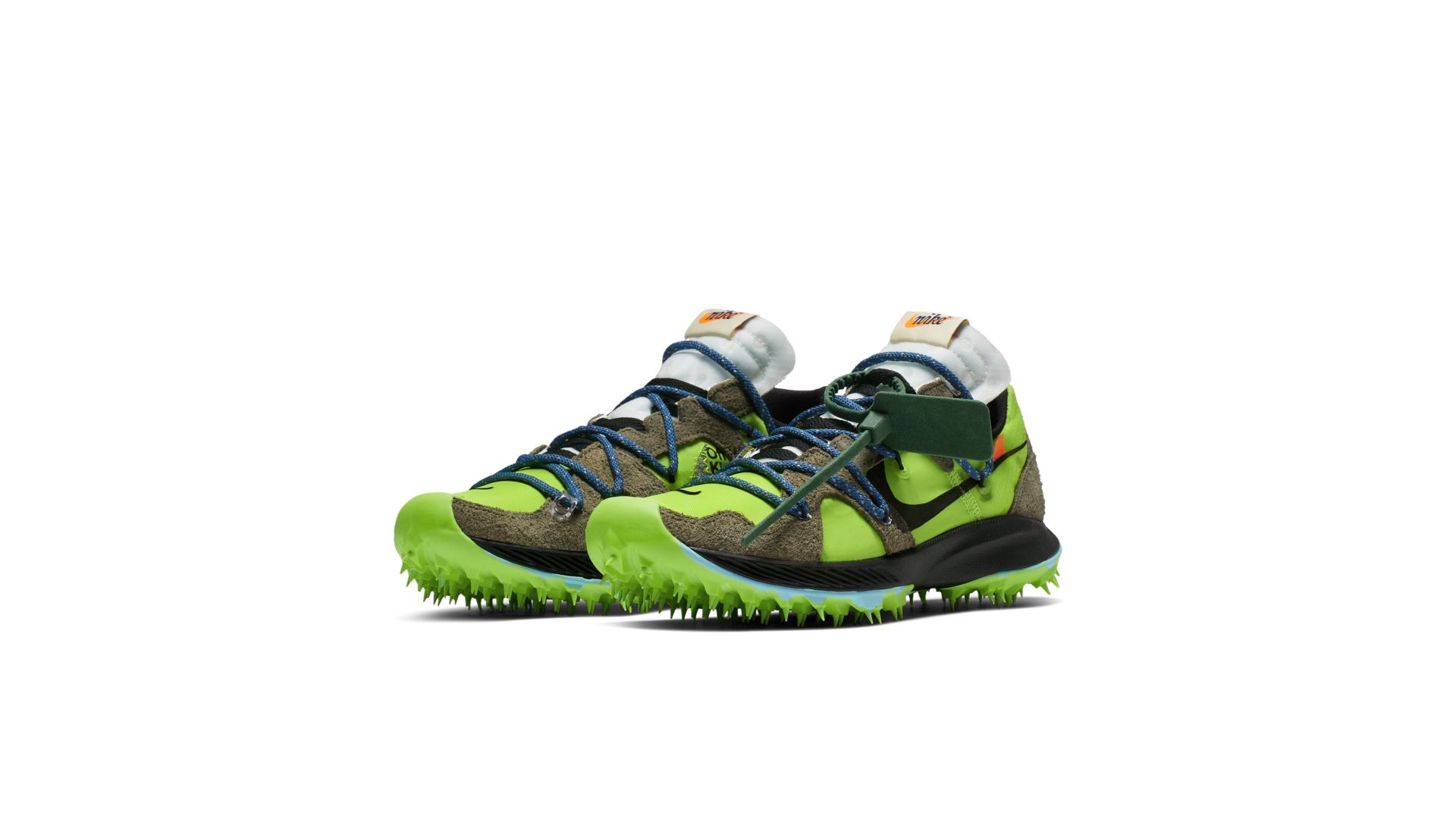 Nike Zoom Terra Kiger 5 Off-White Electric Green (W) (CD8179-300)
