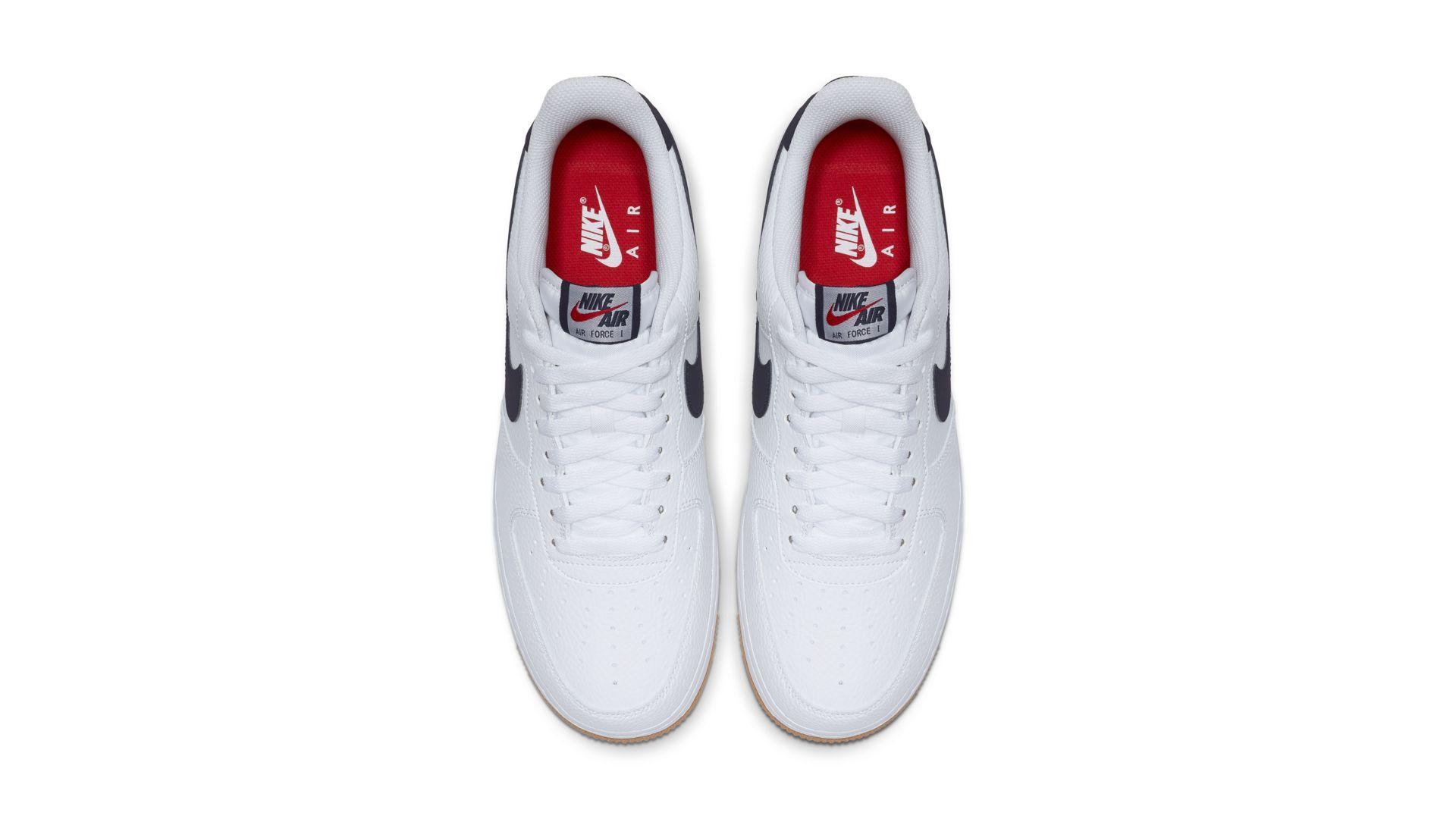Nike Air Force 1 Low '07 White Obsidian (CI0057-100)