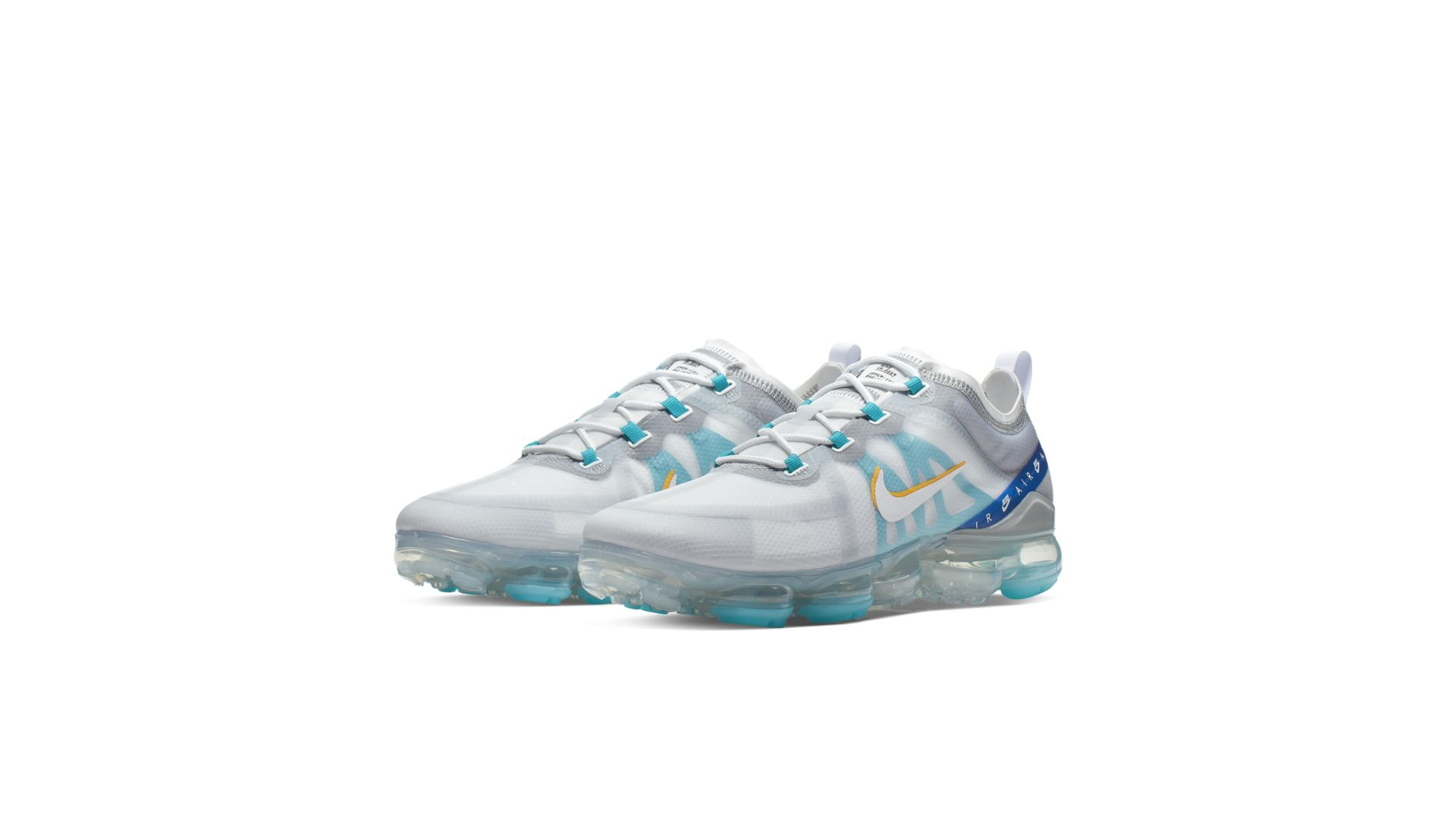 Nike Air VaporMax 2019 White University Gold Wolf Grey (CI1240-102)