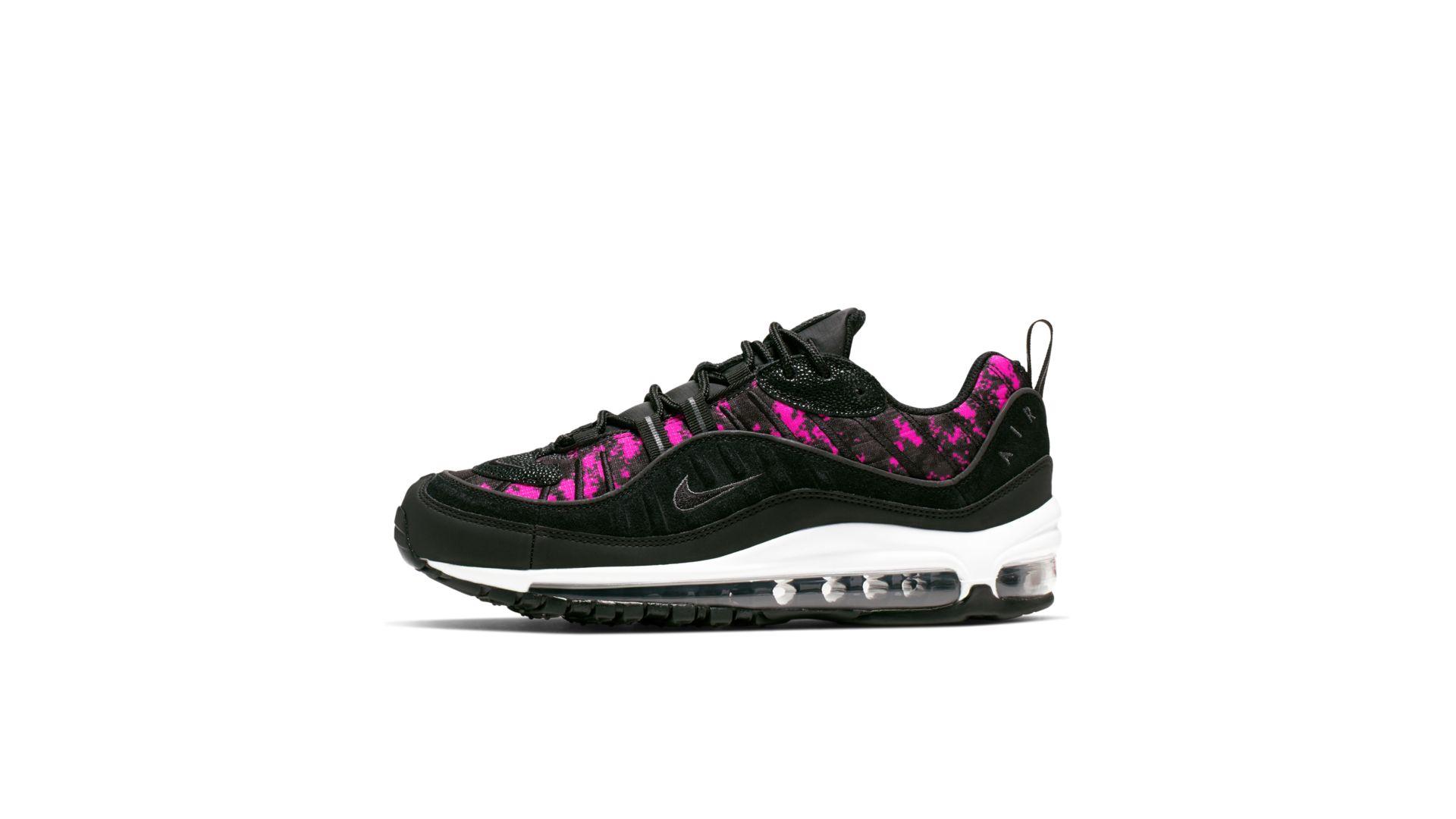 Nike Air Max 98 Pixel Black Hyper Pink (W) (CI2672-001)