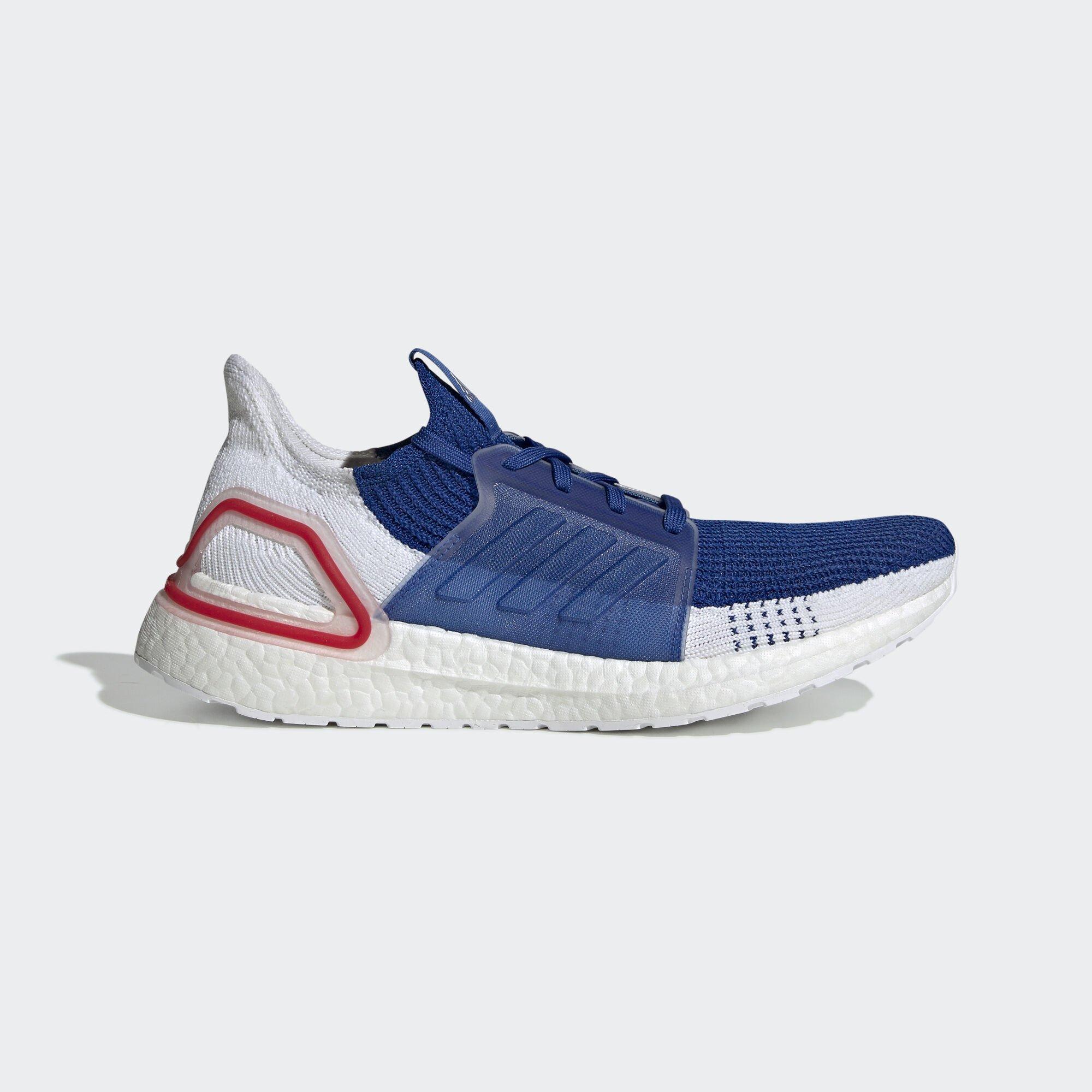 adidas Ultra Boost 19 White Blue (EF1340)